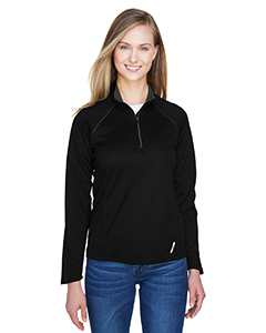 78187 Ash City - North End Ladies' Radar Quarter-Zip Performance Long-Sleeve Top