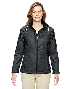 78200 Ash City - North End Ladies' Sustain Lightweight Recycled Polyester Dobby Jacket with Print