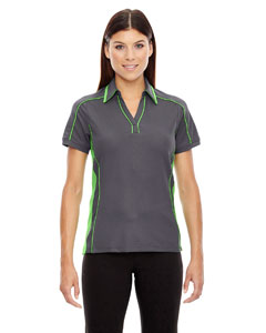 78648 Ash City - North End Ladies' Sonic Performance Polyester Piqué Polo