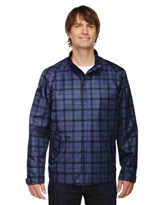 88671 Ash City - North End Men's Locale Lightweight City Plaid Jacket