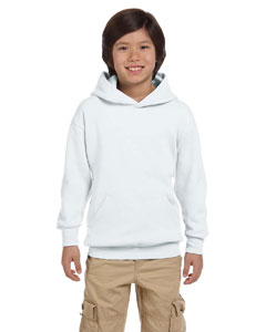 P473 Hanes Youth EcoSmart® 50/50 Pullover Hooded Sweatshirt