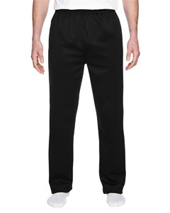 PF974MP Jerzees Adult 6 oz. DRI-POWER® SPORT Pocketed Open-Bottom Sweatpant