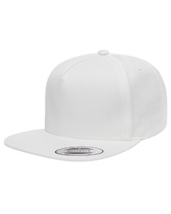 Y6007 Yupoong Adult 5-Panel Cotton Twill Snapback Cap