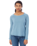 01919E Alternative Ladies' Eco-Mock Twist Locker Room Pullover