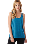 02833B2 Alternative Ladies' Airy Mélange Burnout Tank