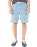 05393E Alternative Men's Triple Double Eco-Mock Twist Shorts