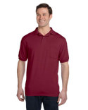 054P Hanes Men's 5.2 oz., 50/50 EcoSmart® Jersey Pocket Polo