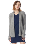 12529E Alternative Ladies' Eco-Jersey Rib Sleeve Wrap
