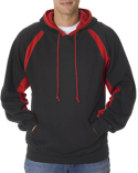 1262 Badger Adult Hook Hooded Fleece