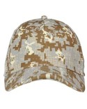 1285134 Under Armour Curved Bill Cap - Digi Camou