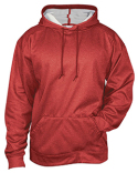 1450 Badger Adult Pro Heather Fleece Hooded Sweatshirt