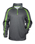 1481 Badger Adult Fusion Quarter-Zip Fleece Pullover