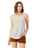 2001EJ Alternative Castaway Eco-Jersey™ Yarn Dye Stripe Tank