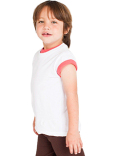 2105ORW American Apparel Toddler Organic Fine Jersey Kids' Short-Sleeve T-Shirt