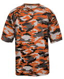 2181 Badger Youth Camo Short-Sleeve T-Shirt