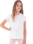 2201ORW American Apparel Youth Organic Fine Jersey Youth Short-Sleeve T-Shirt