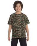 2206 Code Five Youth Camo T-Shirt
