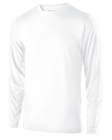 222625 Holloway Youth Polyester Long Sleeve Gauge Shirt