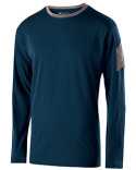 222627 Holloway Youth Polyester Long Sleeve Electron Shirt