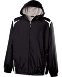 229076 Holloway Adult Polyester Full Zip Hooded Collision Jacket