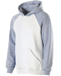 229279 Holloway Youth Cotton/Poly Fleece Banner Hoodie