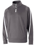 229292 Holloway Youth Polyester 1/4 Zip Determination Pullover