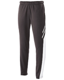 229670 Holloway Youth Temp-Sof Fabric Performance Fleece Flux Tapered-Leg Warm-Up Pant