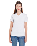 2356W American Apparel Ladies' Fine Jersey Short Sleeve Classic V-Neck
