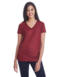 240RV Threadfast Apparel Ladies' Liquid Jersey V-Neck T-Shirt