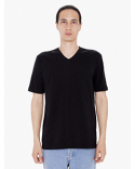 24321W American Apparel Unisex FINE JERSEY SHORT SLEEVE CLASSIC V-NECK