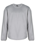 2453 Badger BT5 Youth Performance Fleece Open Bottom Crewneck