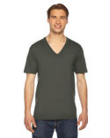 2456 American Apparel Unisex Fine Jersey Short-Sleeve V-Neck