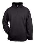 2480 Badger Youth Quarter-Zip Polyester Performance Fleece