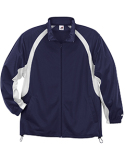 2702 Badger Youth Brushed Tricot Hook Full-Zip Jacket