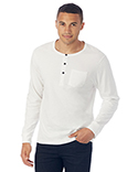 2880P1 Alternative Men's Organic Pima Cotton Classic Henley