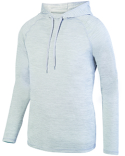 2905 Augusta Sportswear Adult Shadow Tonal Heather Hoodie