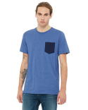 3021 Bella + Canvas Men's Jersey Short-Sleeve Pocket T-Shirt