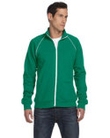 3710 Bella + Canvas Men's Piped Fleece Jacket