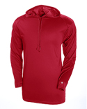 4105 Badger Adult B-Core Long-Sleeve Performance Hooded T-Shirt