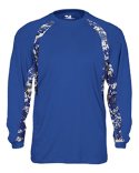 4155 Badger Adult Digital Hook Long Sleeve Performance Tee