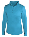 4286 Badger Ladies' Lightweight Quarter-Zip Performance Pullover