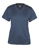 4362 Badger Ladies' Pro Heather V-Neck Short-Sleeve T-Shirt