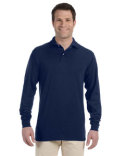 437ML Jerzees Adult 5.6 oz., SpotShield™ Long-Sleeve Jersey Polo