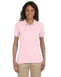 437W Jerzees Ladies' 5.6 oz., SpotShield™ Ladies' Jersey Polo