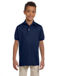 437Y Jerzees Youth 5.6 oz. SpotShield™ Jersey Polo