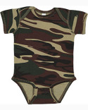 4403 Code Five Infant Camo Bodysuit