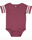 4437 Rabbit Skins Infant Football Bodysuit