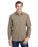 4465 Dri Duck Yarn-Dyed Poplin Paseo Plaid Shirt