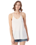 4863C1 Alternative Ladies' Strappy Satin Jersey Tank