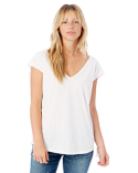 4864C1 Alternative Ladies' Cotton Flirt Tee